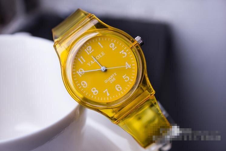 Quartz Watch Transparent Fashion Students Watch Male And Female Children's Watch Children's Watch Manufacturers Wholesale Agency