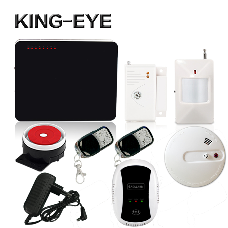 433 mhz alarm system wireless quad band sms gsm alarm systems home security with heat+smoke sensor gas sensor fire alarm system wireless smoke fire detector for wireless for touch keypad panel wifi gsm home security burglar voice alarm system
