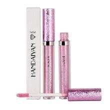 Waterdichte Shimmer Vloeibare idratante Rossetto Make Metallic Lipgloss Langdurige Lip Tint Cosmetica 3.5 ml Più Nuovo