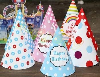 10 sztuk baby kid rainbow urodziny na przyjęcie do czapki chlid korona papier dekoracyjny czapka kreskówka wzór festiwal kolorowy czapka urodzinowa tanie i dobre opinie Serce Star Flower Paski Wielkanoc Powrót do szkoły Birthday party Graduation Chiński nowy rok CHRISTMAS Dzień dziecka