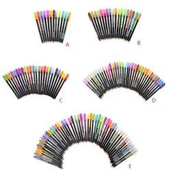12/18/24/36/48x cor glitter scrapbooking tinta canetas desenho pintura artesanato arte