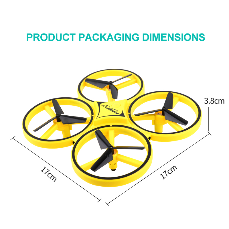 RC Drone Quadcopter Hand Induction Altitude Hold Gravity Sensor Infrared Obstacle Avoidance 2 4G Remote Control Quadcopter ZF04 in RC Airplanes from Toys Hobbies