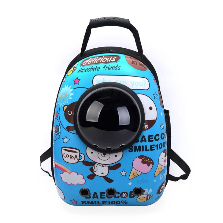 New Space Capsule Astronaut Pet Cat Backpack Bubble Window for Kitty Puppy Chihuahua Small Dog Carrier Crate Outdoor Travel Bag Рюкзак