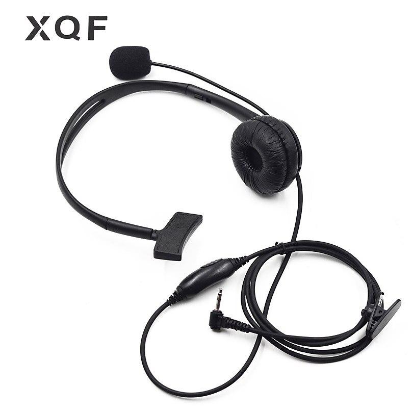 Head Headset Boom Mic For Motorola Talkabout Radio 1 Pin T7150 T7200 T7400 T7450