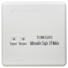 TCMK5203 Addressable Single I/O Module work with tc Fire Alarm System