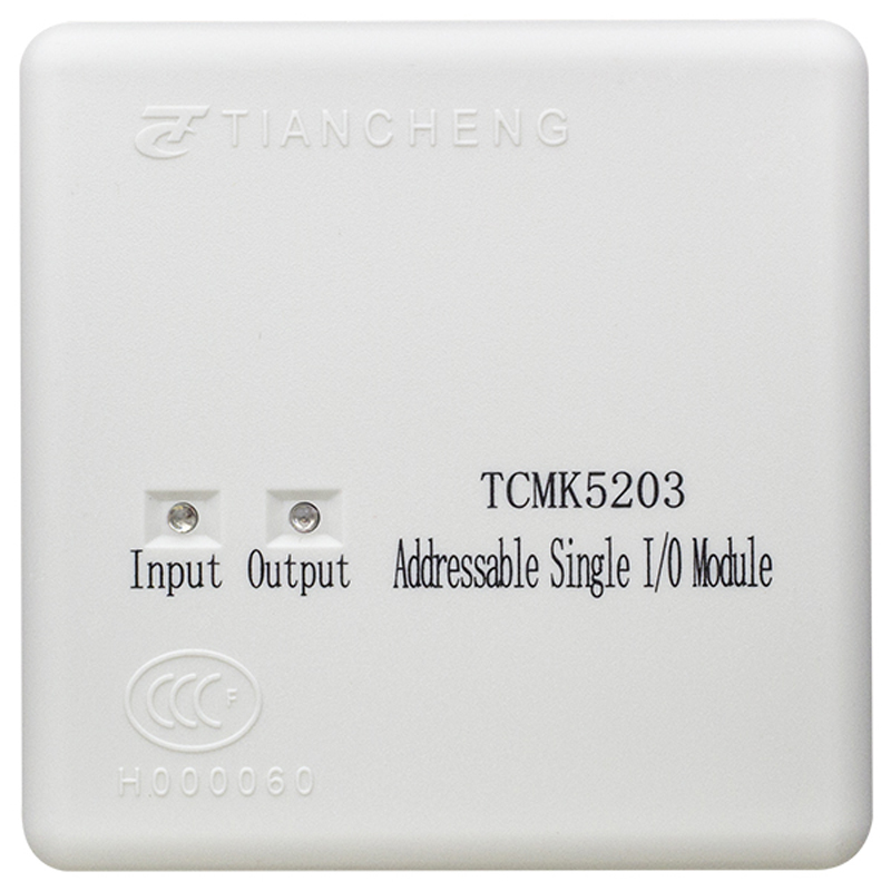 TCMK5213 Addressable Single I/O Module Work With Tc Fire Alarm System