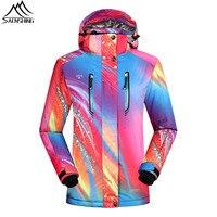 SAENSHING Women Waterproof Ski Jacket Snowboard Coats Girls Super Warm Winter Snow Jacket Outdoor Ski Clothing