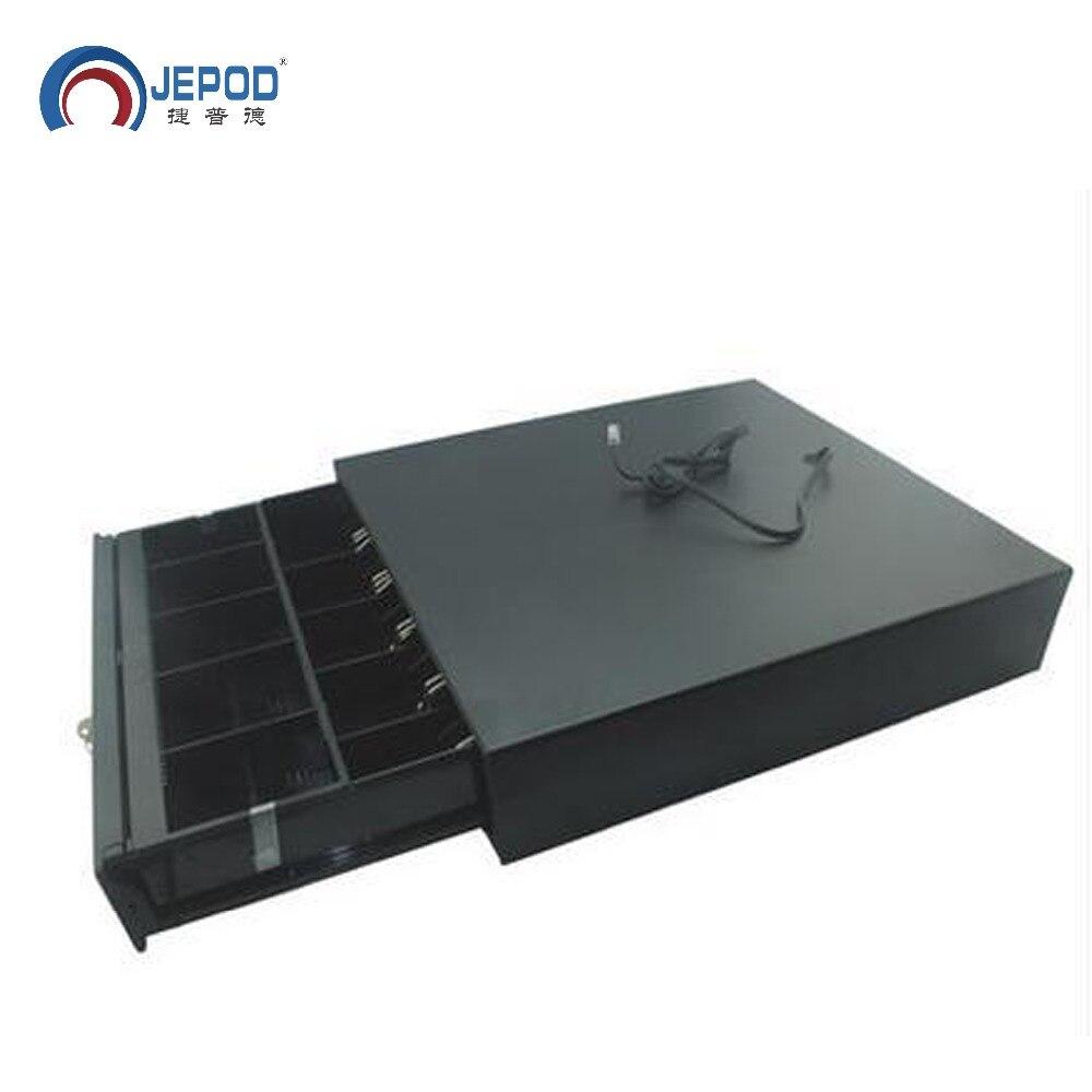 JP-001 JEPOD cash box five grid 3 section cash register drawer pos machine cabinet cash drawer