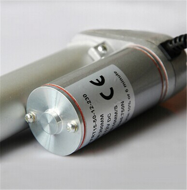 цена на DC Electric Linear Actuator 100mm=4inch stroke 12V 10mm/s=0.4inch/s speed 750N=75KG=165LBS lift