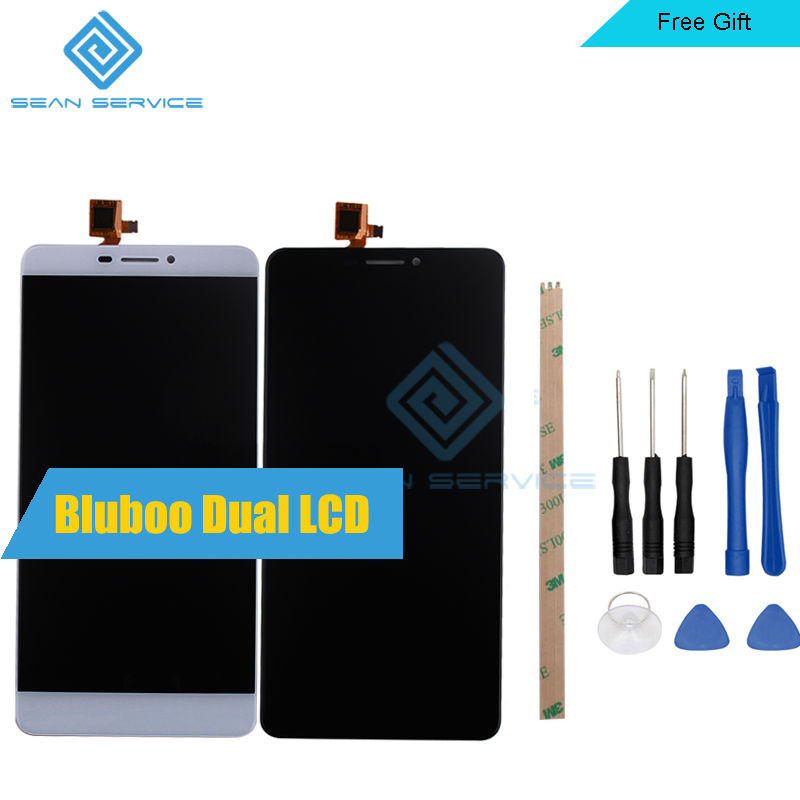 Für Original Bluboo Dual LCD Display + Touch Screen Digitizer Assembly Ersatz Bluboo Dual 1920X1080 5,5 inch Lager