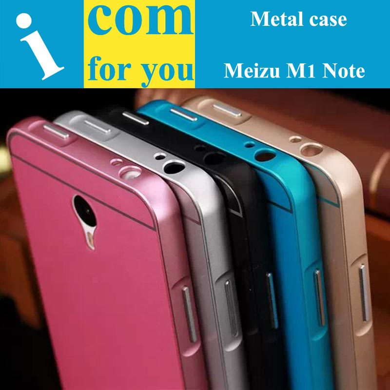 Luxury Aluminum Metal Protector case cover Meizu M1 Note metal frame+plastic shell M2 - Shenzhen icomforyou Co.,ltd Store store