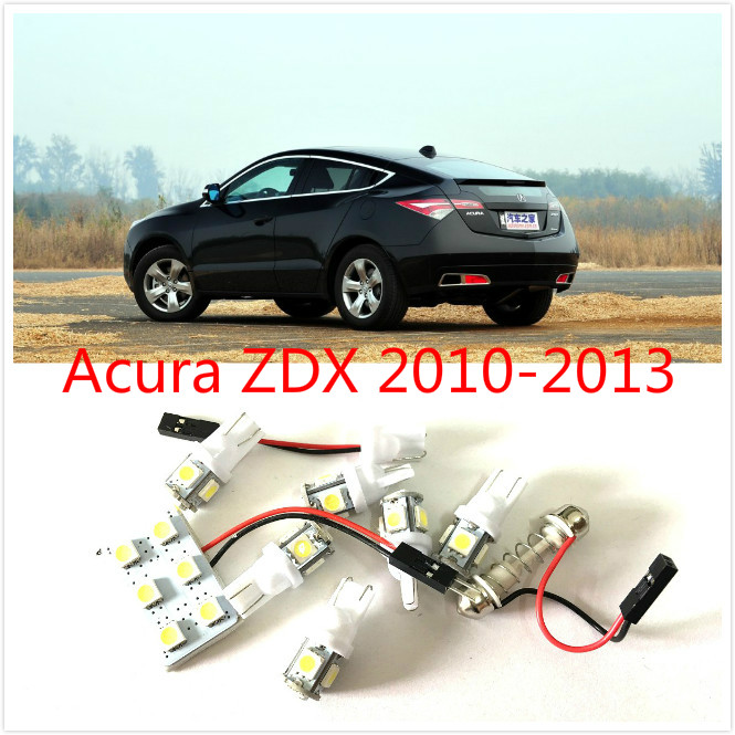 7PCS White LED interior package kit For ZDX 2010-2013 Trunk Cargo Courtesy License Plate Tag Lights high quality