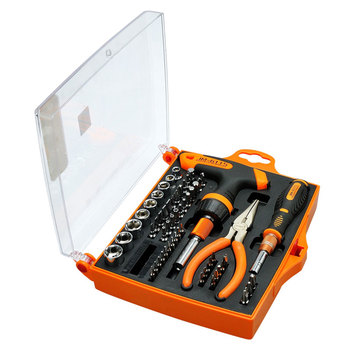 цена на Multifunctional 60 in 1 Precision Screwdriver Set Magnetic Bits Electronic Maintenance Repair Opening Tools Kit for Mobile phone