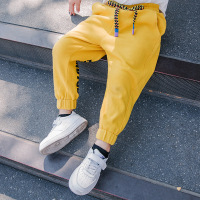 Children's casual pants 2019 spring tide boy boy foreign pants pants boys cotton pants