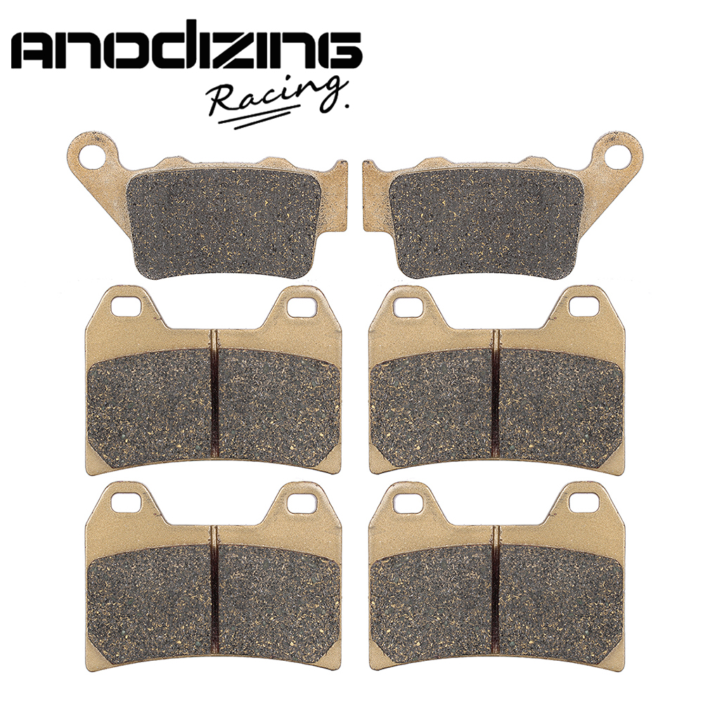 Motorcycle Front and Rear Brake Pads For BMW F800GT 2013-2016 F800R 2009-2014 F800S/ST 2006-2013 motorcycle front and rear brake pads for ktm egs lse exc 400 all models 1998 2006 black brake disc pad