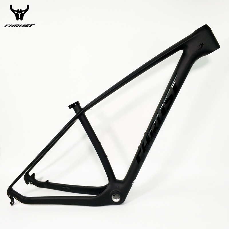 THRUST Chinese Carbon Frame 29er Carbon Mountain Bike Frame mtb 15 17 19 BOB Black China Carbon MTB Frame Free Shipping giant 26 mountain bike mtb frame atx pro