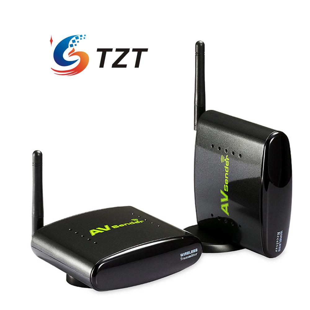 PAT-350 2.4G 250m STB Wireless Sharing Device A/V Audio Video Sender Transmitter and Receiver