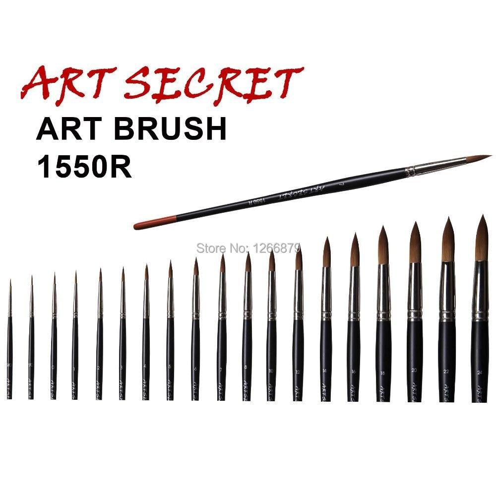Художественные принадлежности для акварели, кисти для рисования, 1550R takron