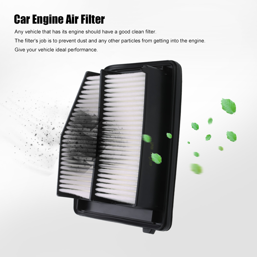 17220 r1a a01 extra guard rigid panel engine air filter replacement for honda acura civic 2012 2015 ilx base 2013 2015