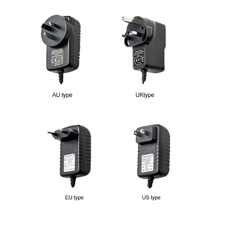 JeaTone Camera Monitor DC Power Supply Power Adapter Supply 12 V ,UK,US,EU,AU P System