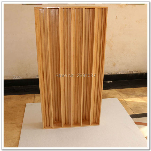 2Unit Home Theater Audio Quadratic Diffusor Paulownia Wood  Acoustic Diffuser QRD Sound Diffuser Acoustical Treatments