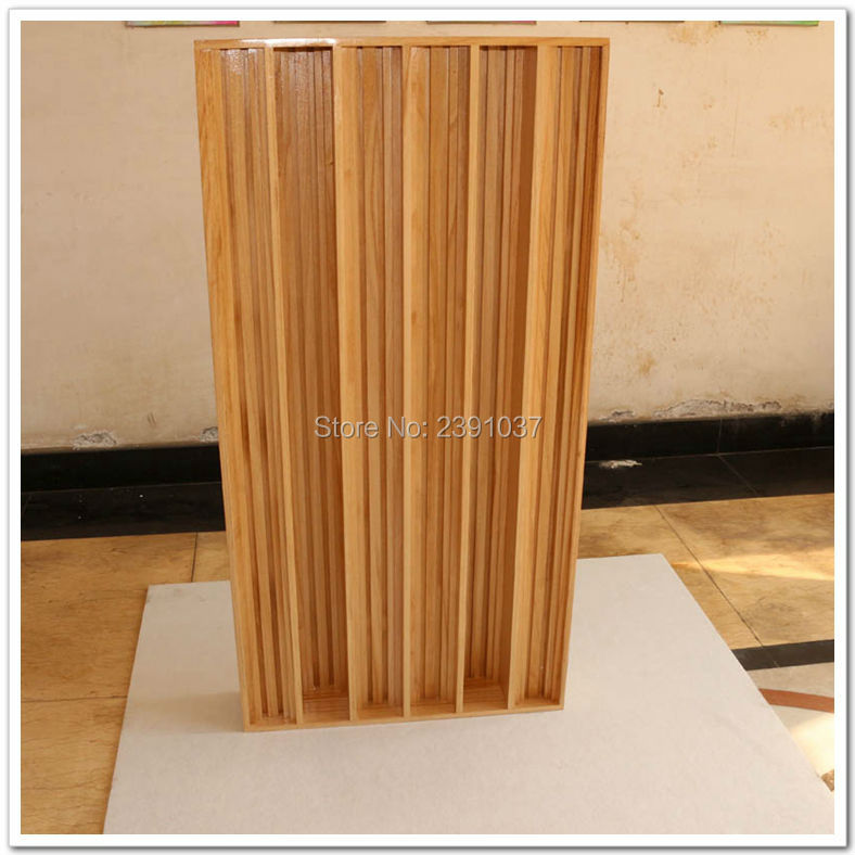 High Quality 2piece Wood QRD Diffusion Acoustic Panel Sound Diffuser Skyline Panel treatment absorption panel Big size120x60cm