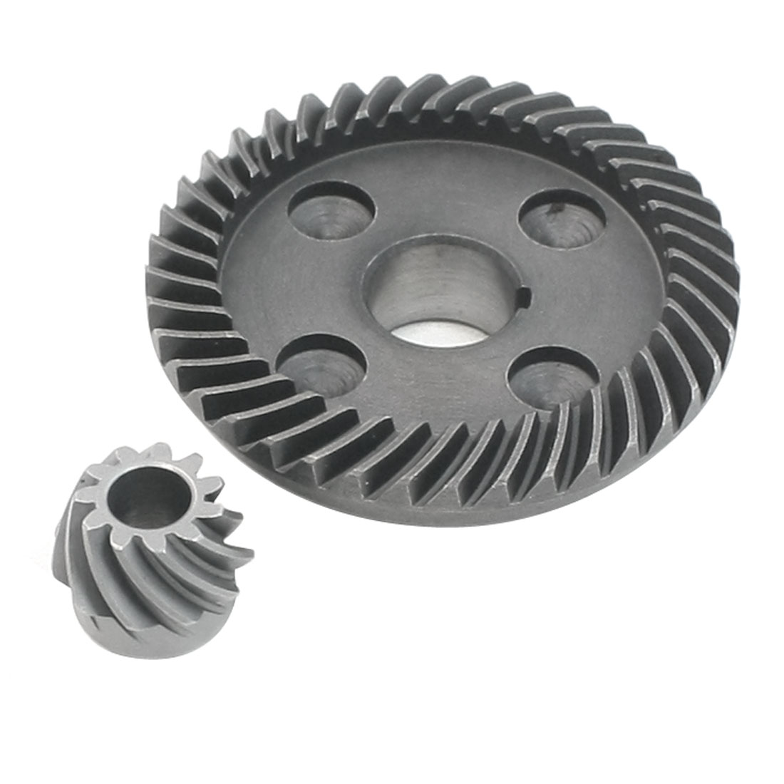 Angle Grinder 7.9Mm Dia Hole Pinion Spiral Bevel Gear Set For  150