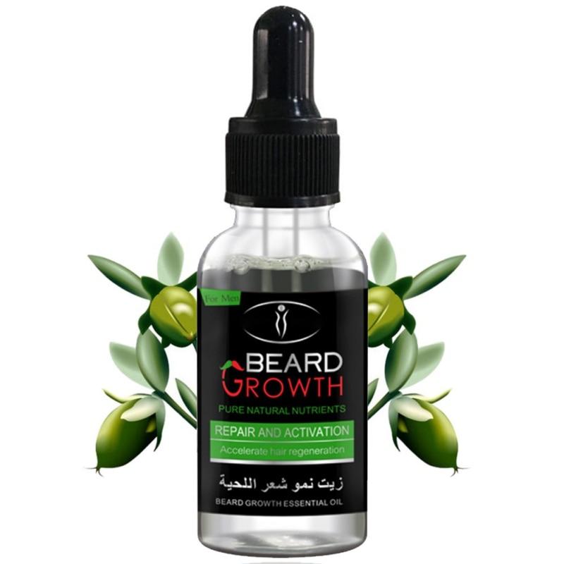 Купить с кэшбэком Best Quality 100% Natural Moisturizing Men Beard Oil for Styling Beeswax Smoothing Gentlemen Beard Care Conditioner