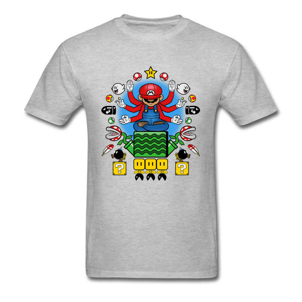 キノコ涅槃 Tシャツマリオ Tシャツの男性ゲームトップス 80 s 古着冒険ゲーマー Tシャツおかしい Tシャツ