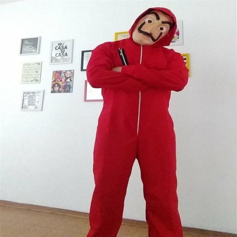 Hot La Casa De Papel Salvador Dali Cosplay Costume Salvador Dali Cosplay Movie Costume