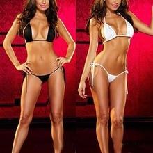 Womens Sexy Lingerie Swimsuit Swimwear Babydoll Bikini Top Bra G-corda Definir Novo 2015