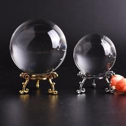 60 cm/80 cm 3d laser gravado bola de cristal de vidro claro rosa quatro folhas de cristal figurinhas decoração do quarto decoração para casa presente ornamento