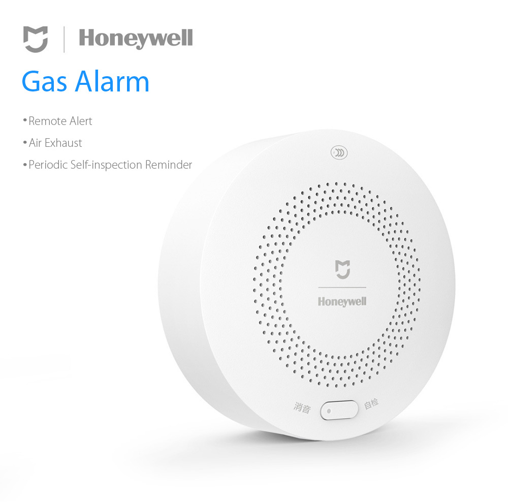 Xiaomi MIJIA Honey-well Aqara Gas Alarm Detector Fire Protection Remote Alert Smart Home Kit Smoke Alert Support Gateway Hub (3)