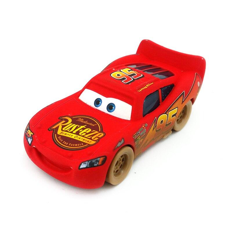 Disney Pixar Cars Lightning McQueen Vehicle Color Double Toy 1:55 Loose Metal