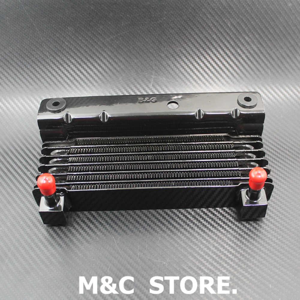 Мотоцикл масляный охладитель устройство охлаждения Радиатор бак для воды для Harley Touring Street Glide Road King Road Glide 09-16 FLHX FLHR