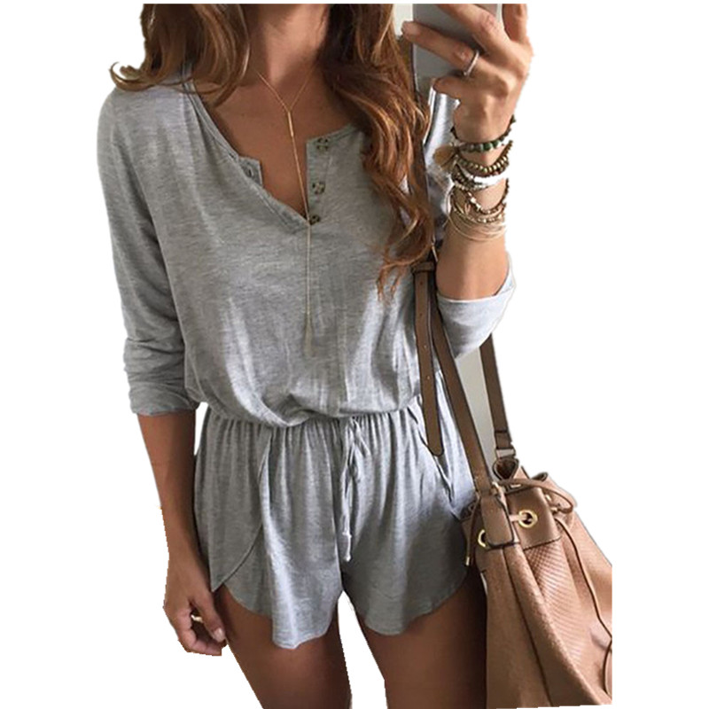 New Brand Women Holiday Mini Playsuit Ladies Summer Beach Dress Size Casual Clothes Fashion Sexy Playsuit