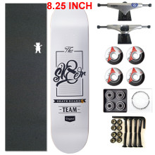 Pro Complete PRIVATE Fight Canadian Maple Skateboard Deck Aluminum Skate Trucks PU Skate Wheels and Beearings