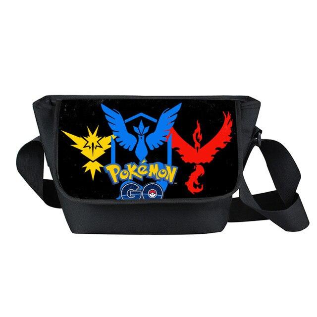 51493d2a76c8 Janpn Anime Pokemon Messenger Bag Pocket Monster Crossbody Bags Ash Ketchum Pikachu  Handbags School Bag For Children Bookbags