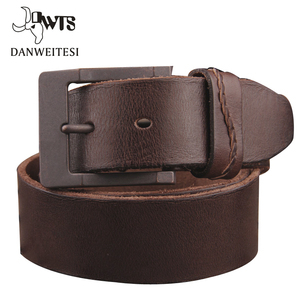 Image 2 - [DWTS]2016 real cow genuine leather men belt luxury buckle belts for men strap male pin buckle masculino cinturones hombre
