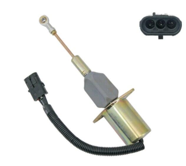 Stop solenoid RE53559 for Deere Engine stop solenoid 1502 12d6u2b2s2a