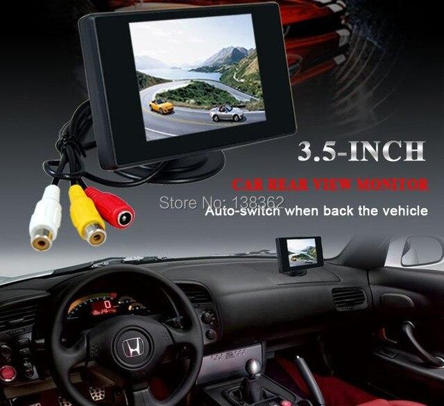 ¡A la venta! Monitor de coche TFT LCD de 4,3 pulgadas para coche cámara de respaldo reverso Monitor de coche envío gratis