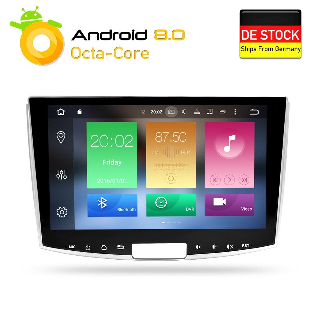 Android 8.0 DVD de Voiture Stéréo Navigation GPS Glonass pour Passat B6 B7 CC Magotan 2013 2014 2015 Auto Multimédia Radio lecteur