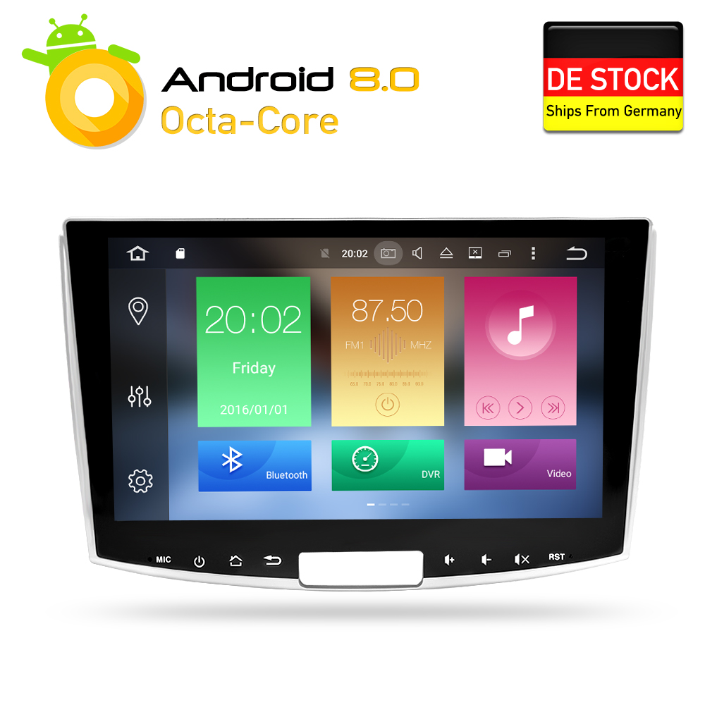 Android 8.0 Voiture DVD Stéréo GPS Glonass Navigation pour Passat B6 B7 CC Magotan 2013 2014 2015 Auto Radio Multimédia joueur