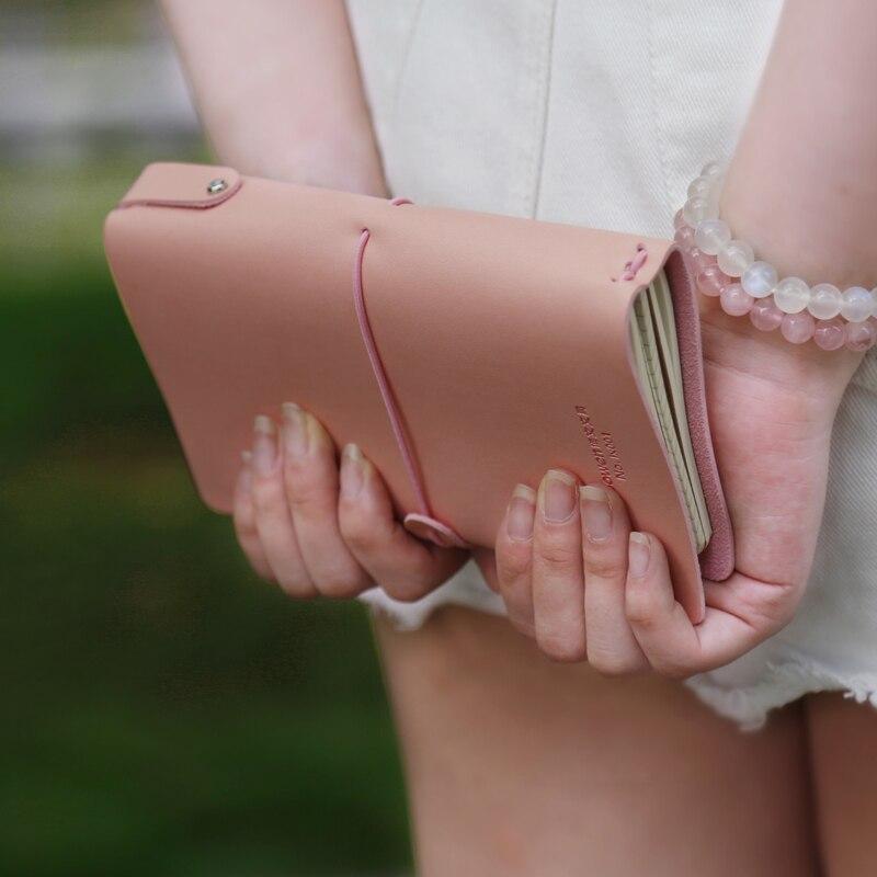 BOWEN Fashion Creative Travel Notebook Retro Notepad Carry Small Notebook 1PCS