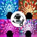 Голосовое Управление RGB LED Этап Лампы Кристалл Magic Ball Звук управление Лазерный Проектор Этап Эффект Света Партии Диско-Клуб DJ свет