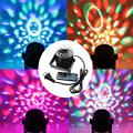 Voice Control RGB LED Stage Lamps Crystal Magic Ball Sound Control Laser Projector Stage Effect Light Party Disco Club DJ Light