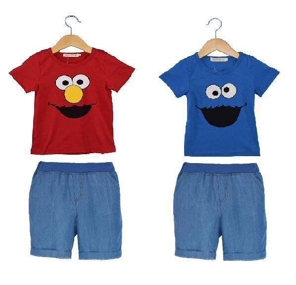 Sistemas de la Ropa Muchachas de Los bebés ropa de Dormir de Verano Niño Niña Pi