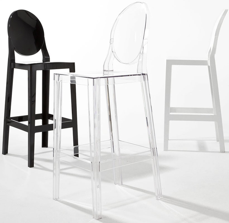 One More Please Stool Ghost Chair devil quiet tall bar transparent designer dining chairs-in Sh&oo Chairs from Furniture on Aliexpress.com | Alibaba Group & One More Please Stool Ghost Chair devil quiet tall bar transparent ... islam-shia.org