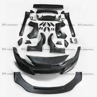 For BRZ FT86 GT86 FRS RB Style Ver 3 Full Unpainted Wide Body Kit Fiber Glass Rear Spoiler Car Styling