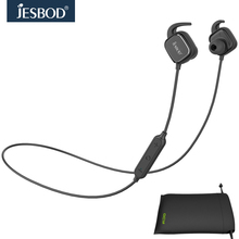 Jesbod Bluetooth Headsets with Mic Wireless Headphones Noise Cancelling Earphones English Voice Earbuds for smartphones PC